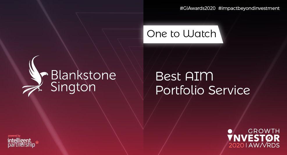 Blankstone Sington AIM Portfolio Service